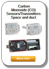 CO Duct & Space Sensors/Transmitters