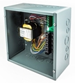 PSH200A psh200a, AC Power Supply, (4) 40VA, enclosed, 120/240/277/480 VAC to 24 VAC, terminal strip