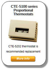 CTE-5100 Series Thermostats