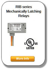 RIB Series - Mechanically Latching