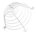 SSU-03500 ssu-03500, large smoke detector guard, ssu03500